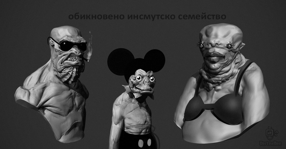 having fun with the innsmouth creatures