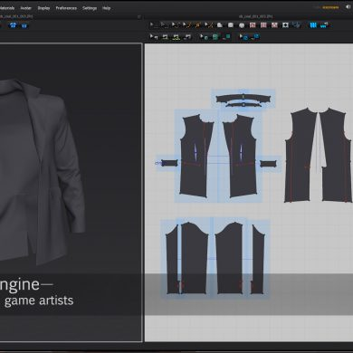 Digital clothes with Marvelous Designer