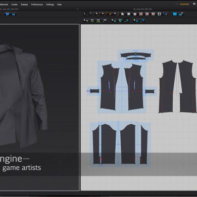 Digital clothes with Marvelous Designer