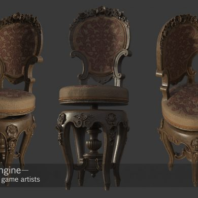 Environment modeling and texturing for games