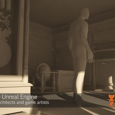 Real time interior visualization with unreal engine, substance painter and marvelous designer